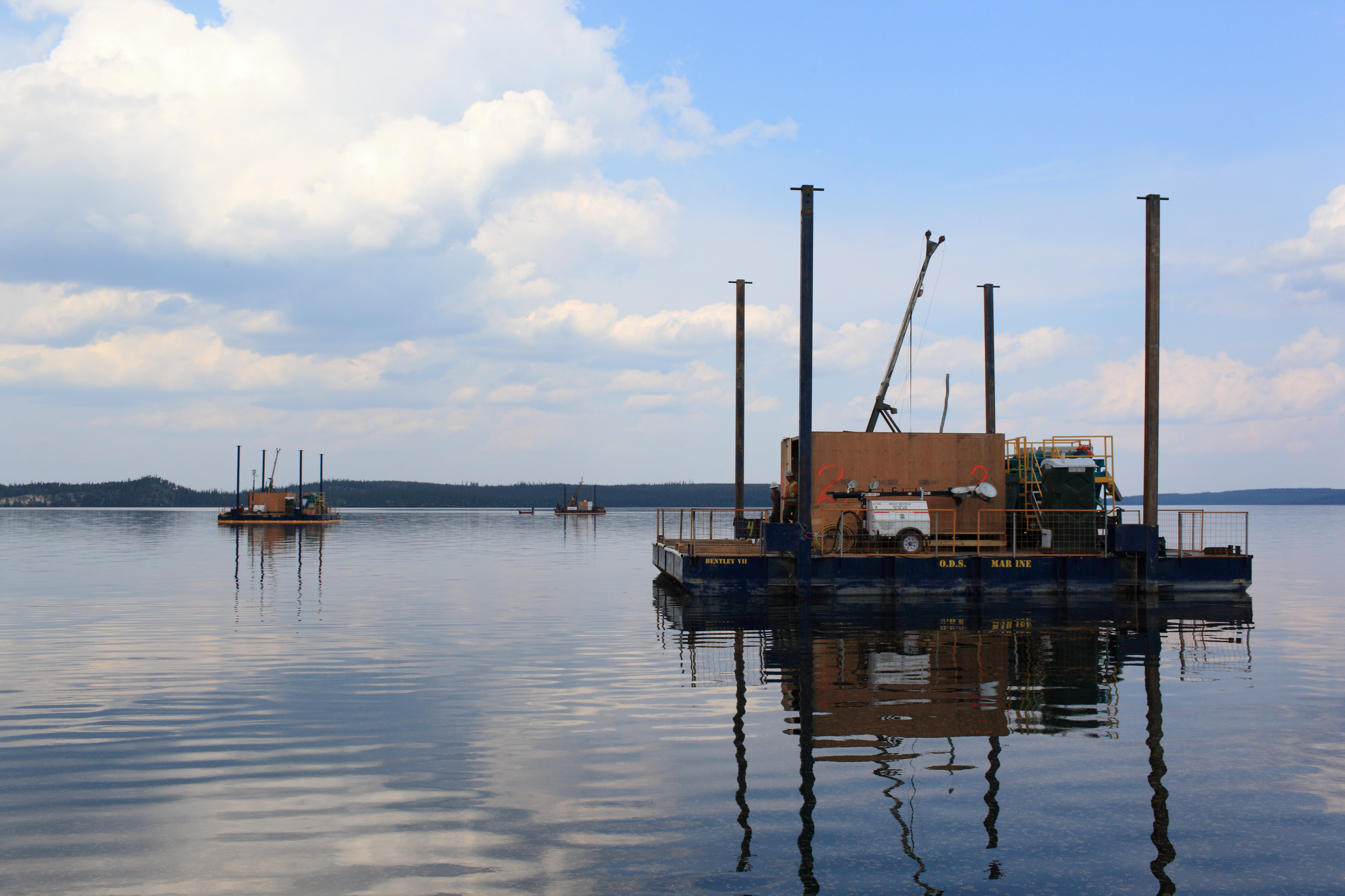 5b - 20140701_PLS_Start_of_Barge_Drilling_lowres